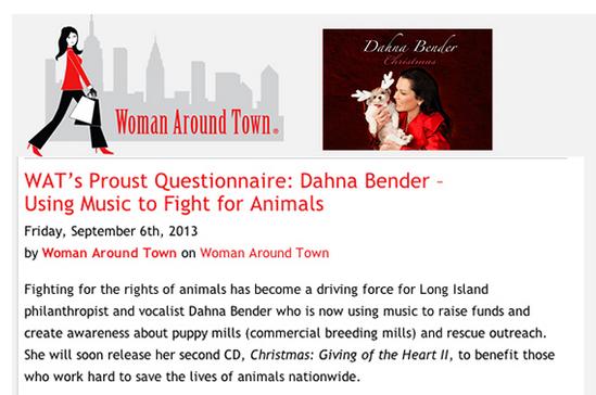 Woman Around Town : Dahna Bender