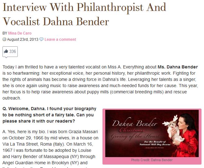 Miss A : Dahna Bender